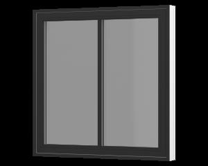 Rationel topstyret vindue med lodret energisprosse. Kan bestilles i træ eller i en vedligeholdelses fri  træ/alu udgave.  Modellen fås både i en moderne med en 31 mm vandret sprosse og klassisk udgave med en 25 mm sprosse.   Vores topstyrede model lev
